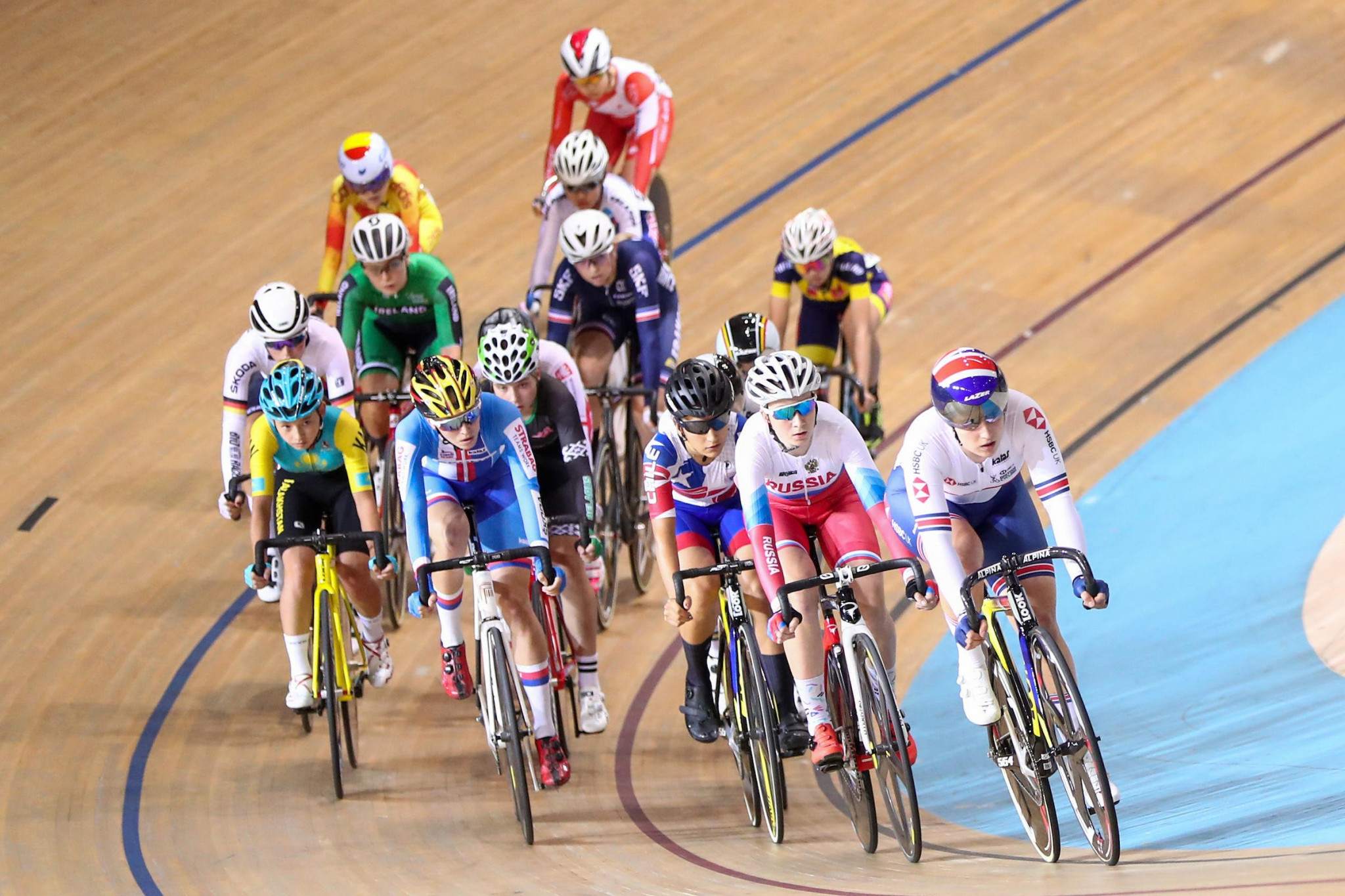 Sibley claims scratch race gold at UCI Junior Track Cycling World Championships