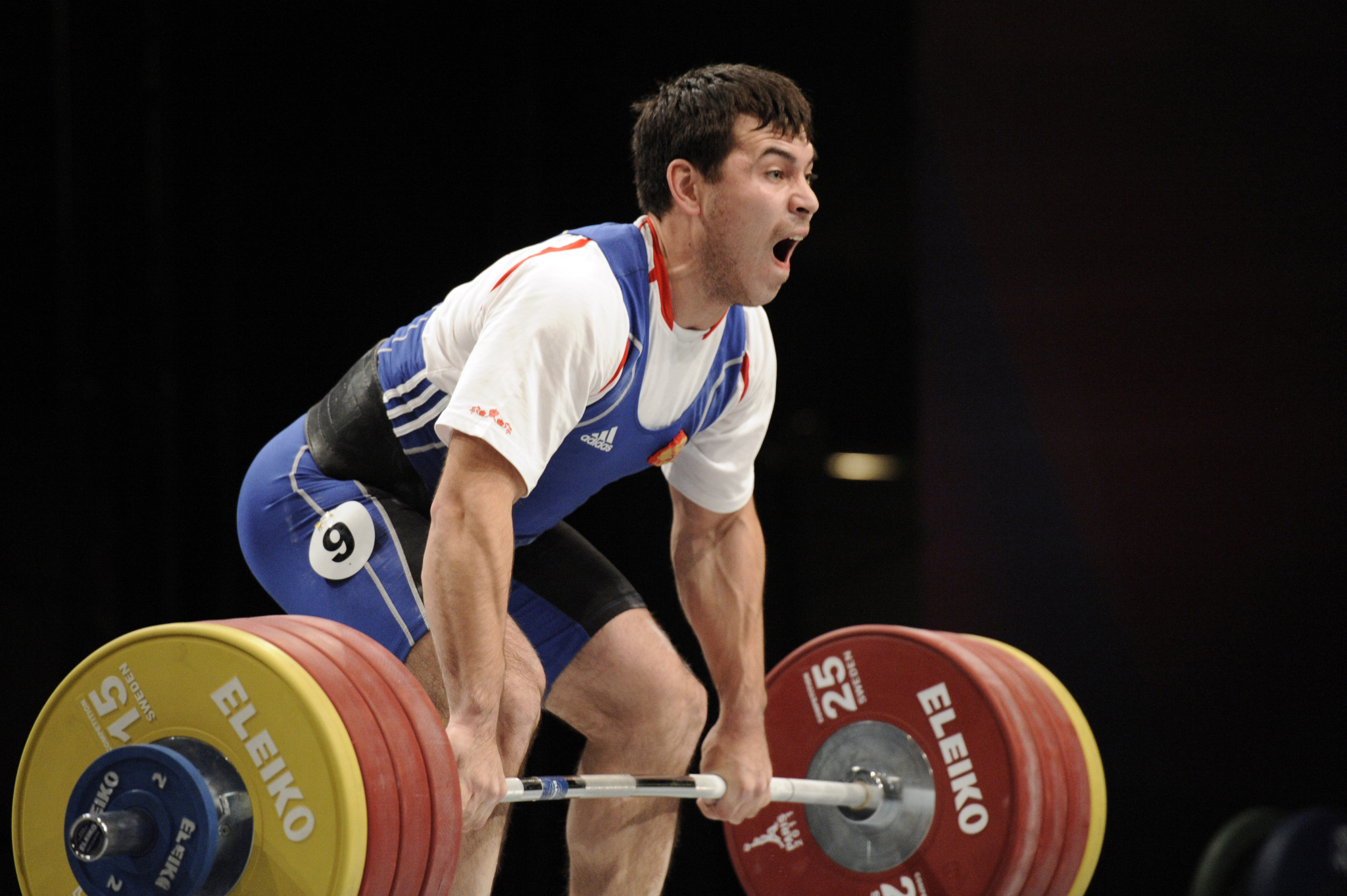 Rinat Kireev, the European Weightlifting 94kg gold medallist in 2013, has been banned for four years by RUSADA following a positive drugs test ©Getty Images