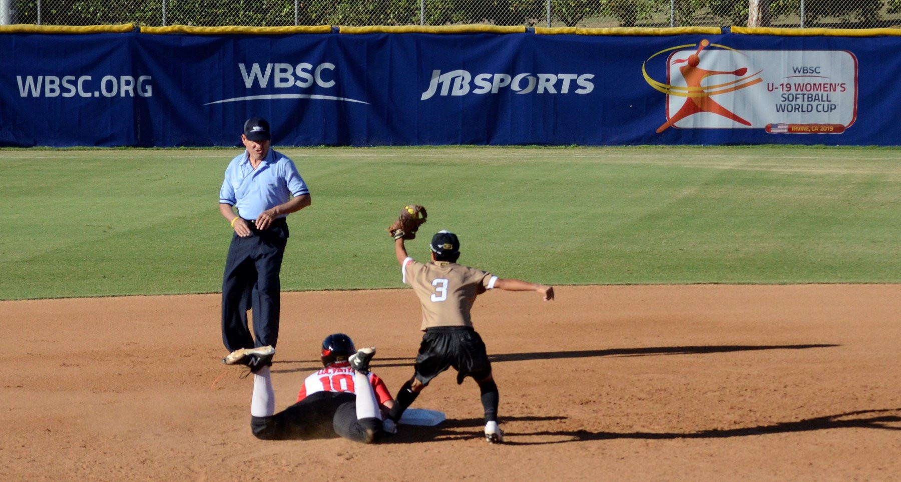Japan have almost secured their spot in the final of the Under-19 Women's Softball World Cup in Irvine ©WBSC