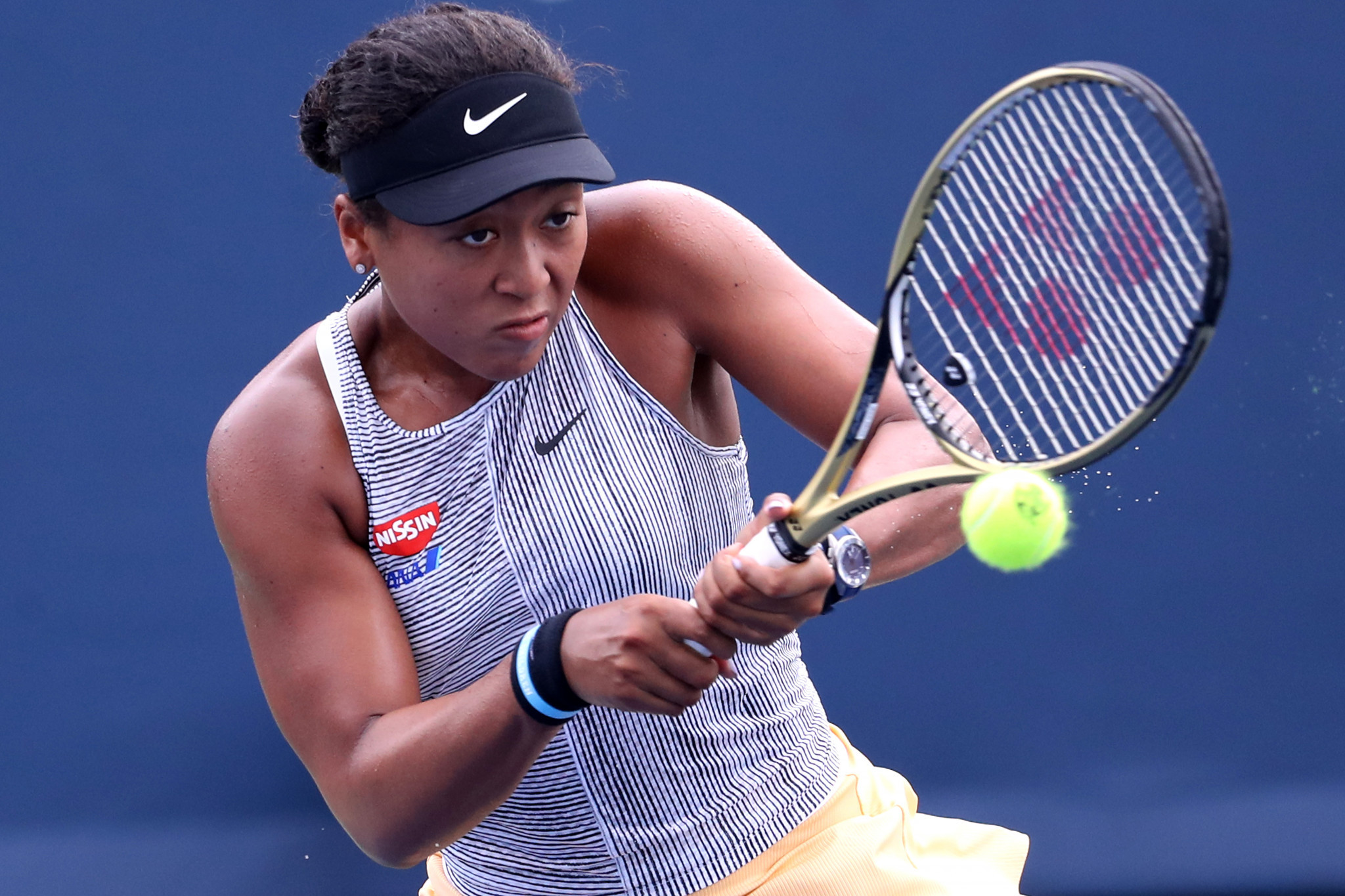Osaka battles past Sasnovich to reach Cincinnati Masters third round