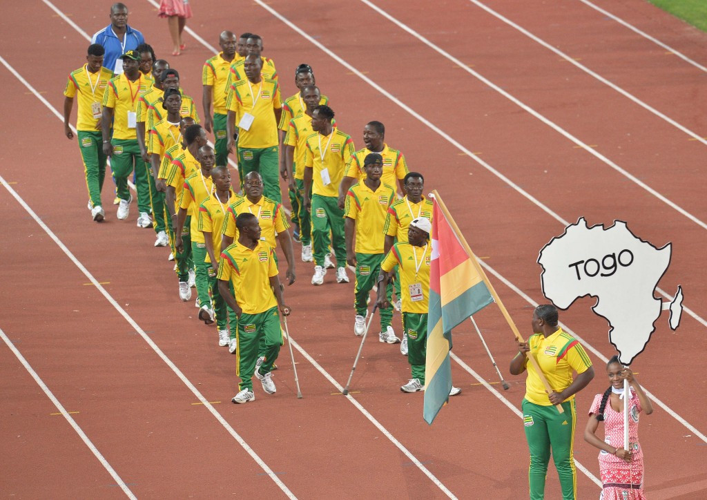 Fatoui Sarouna was part of the Togo team at the All-Africa Games