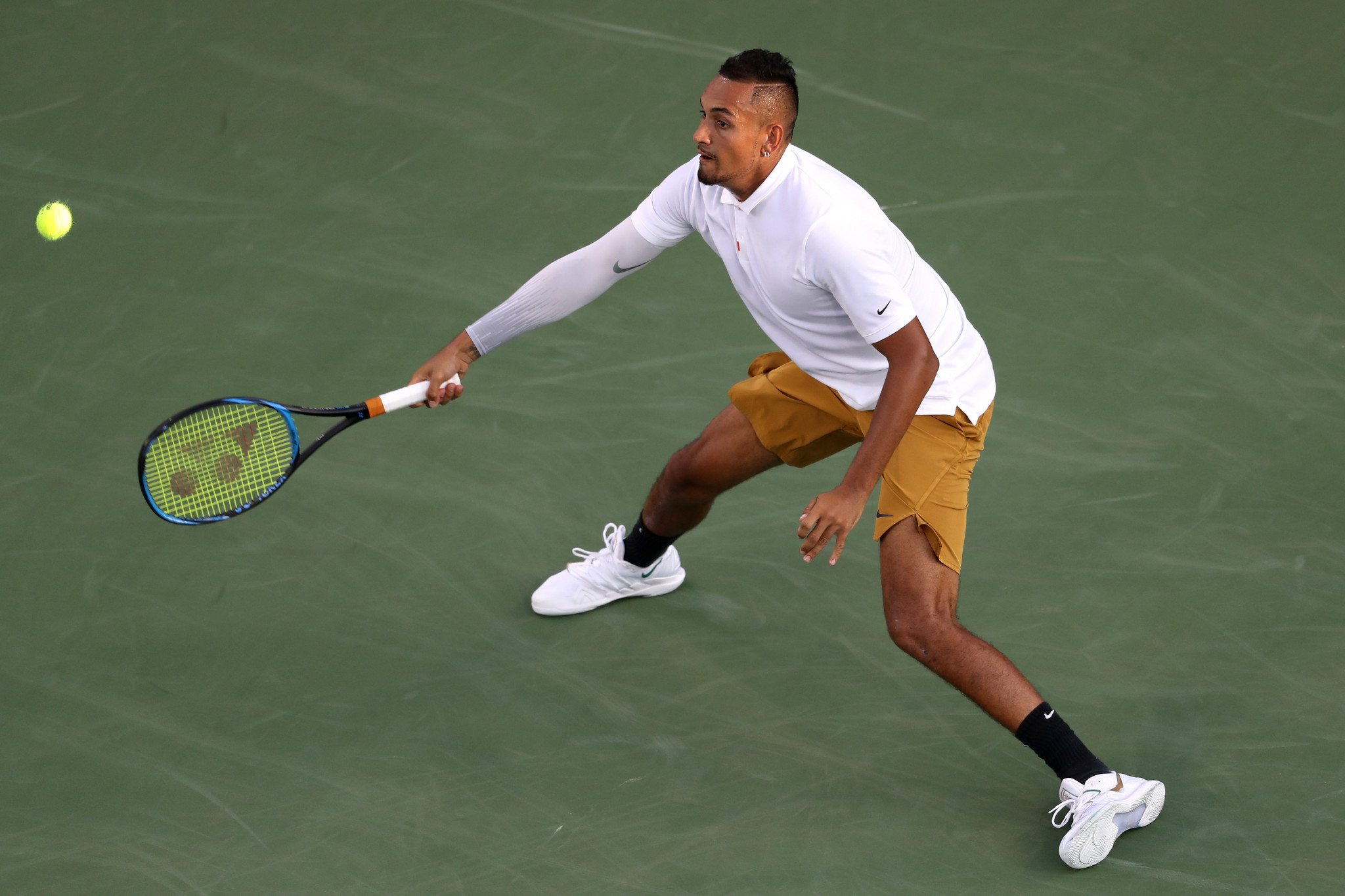 Kyrgios facing more punishment from ATP after latest meltdown at Cincinnati Masters