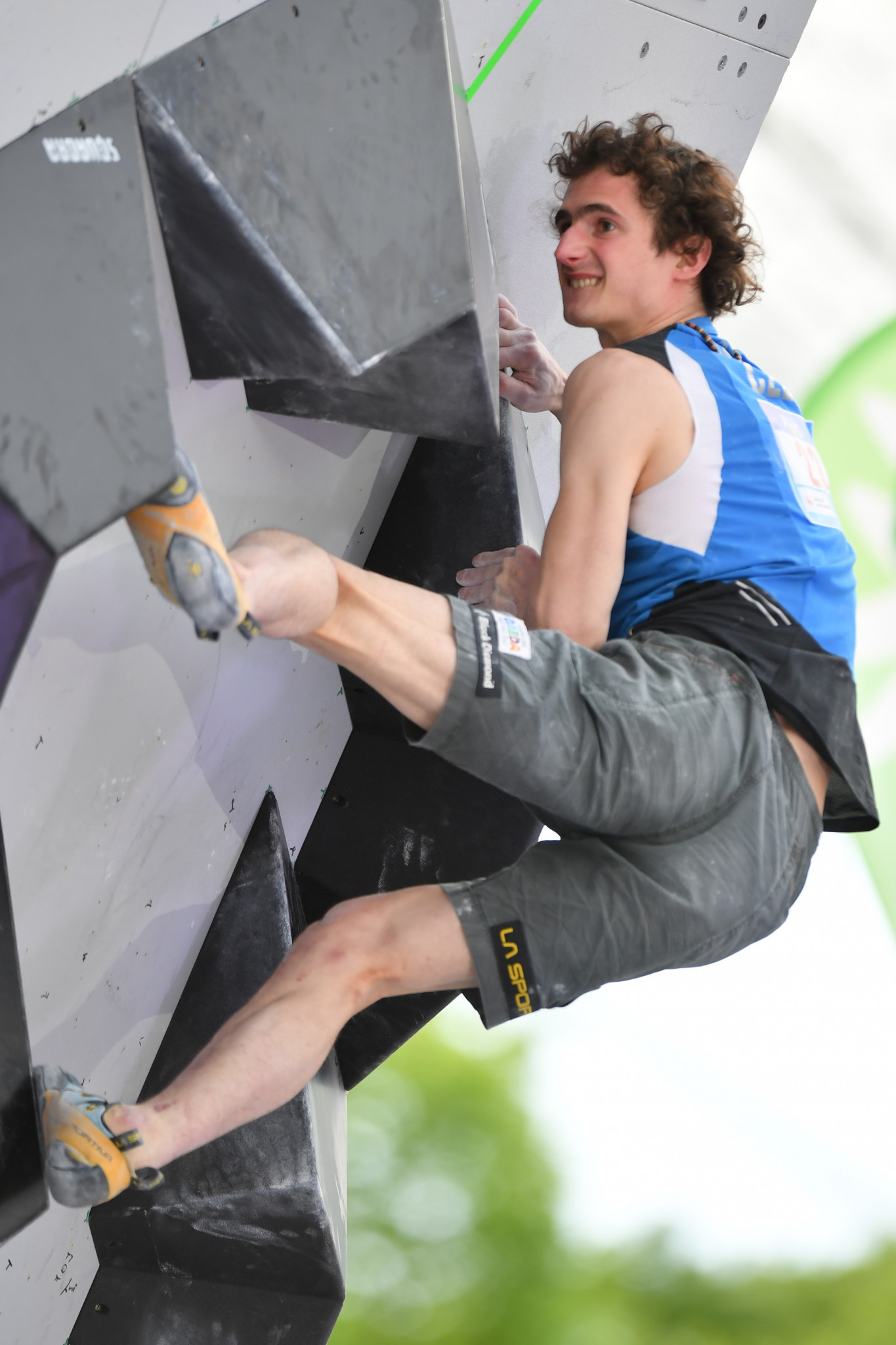 Ondra and Garnbret take men's and women's lead titles at IFSC Climbing World Championships