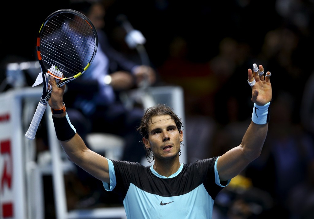 Nadal back to his best in commanding victory over Murray at ATP World Tour Finals
