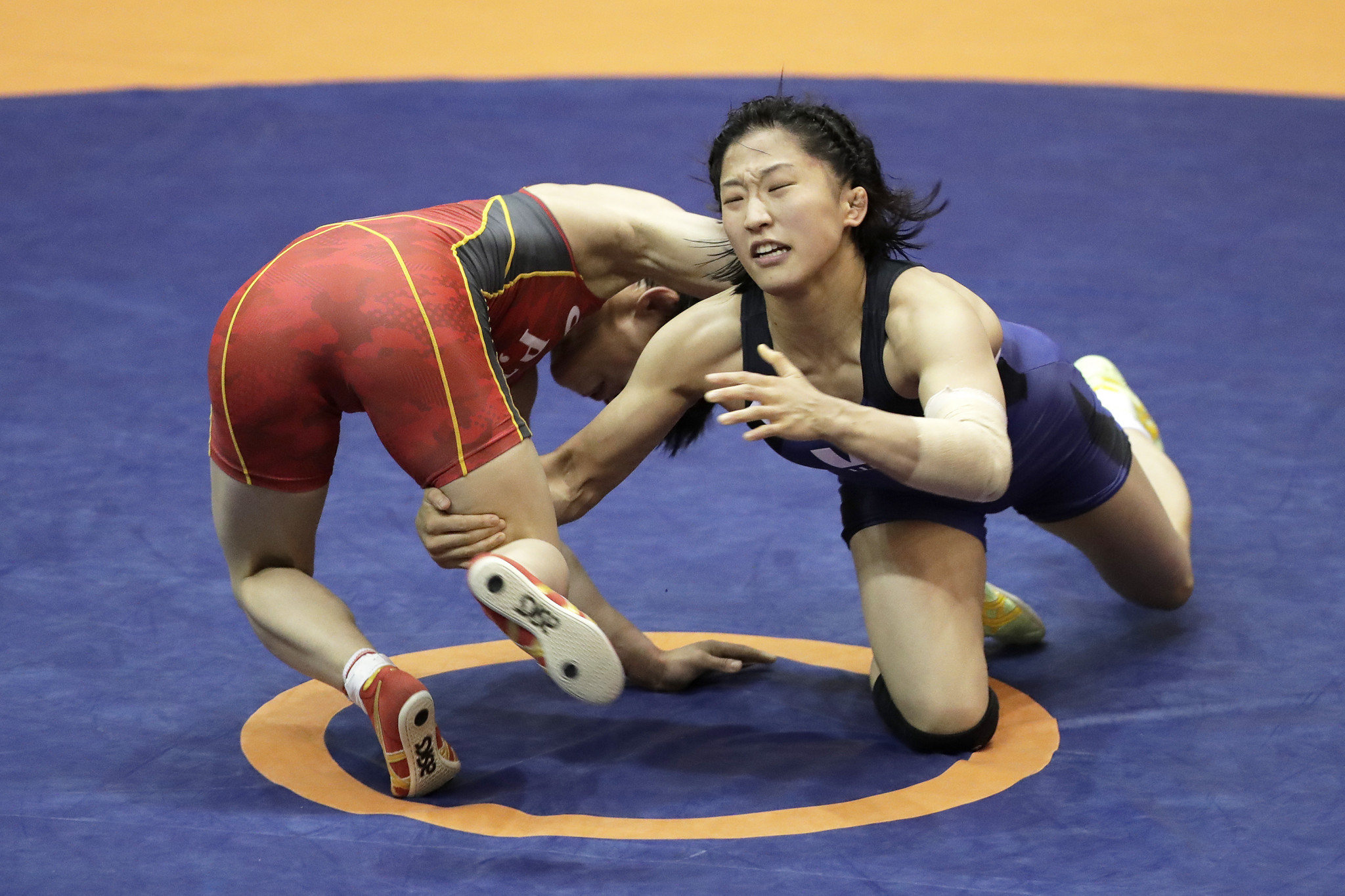 Yui Susaki of Japan sealed a seventh title at the UWW UWW World Junior Championships in Tallinn ©Getty Images