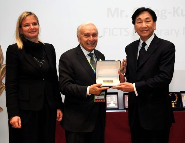 AIBA President appointed honorary member of FICTS