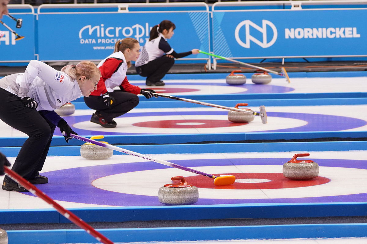 Krasnoyarsk's Crystal Ice Arena will host the 2020 World Junior Curling Championships ©FISU