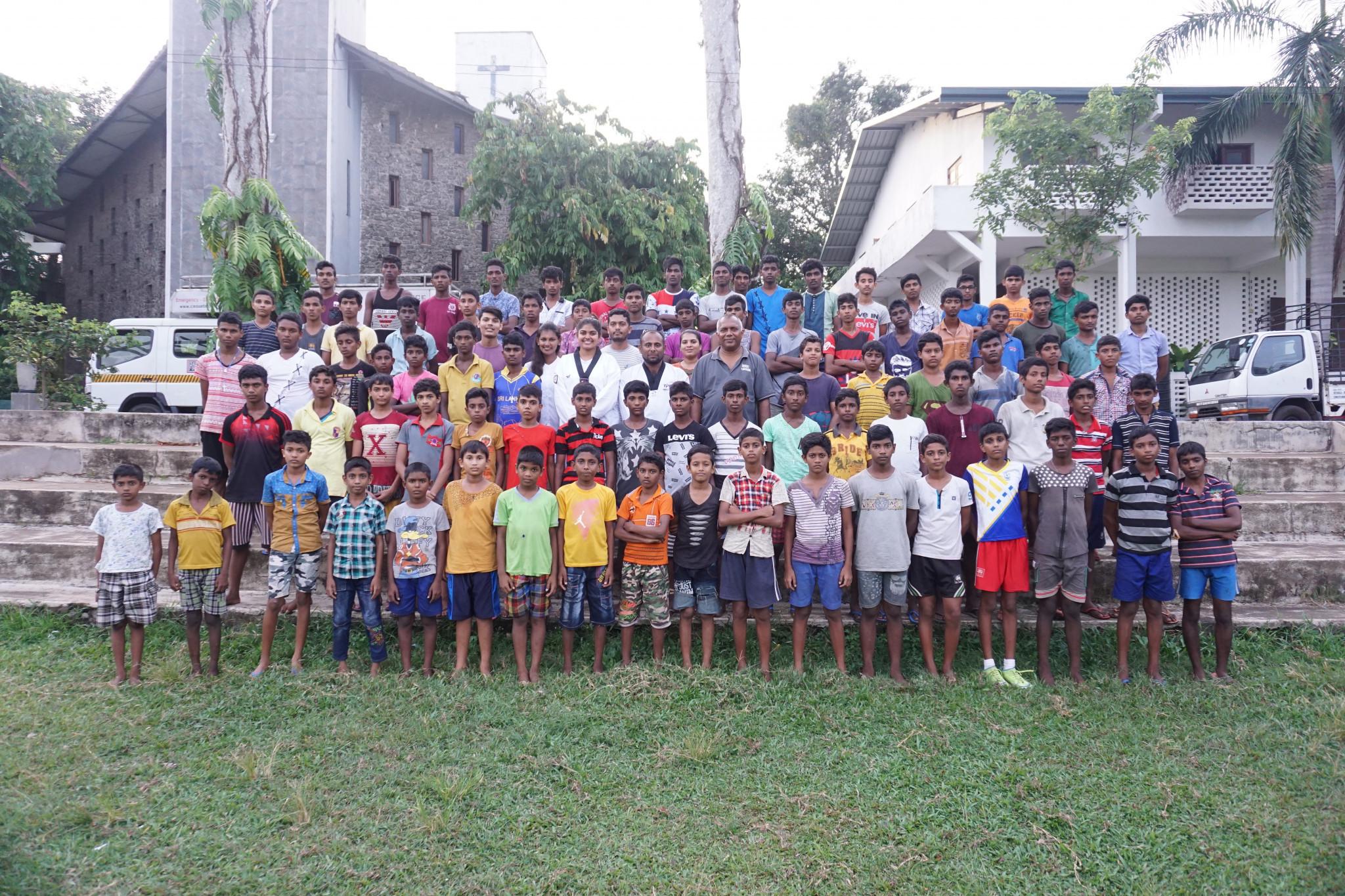 World Taekwondo Cares project on track in Sri Lanka