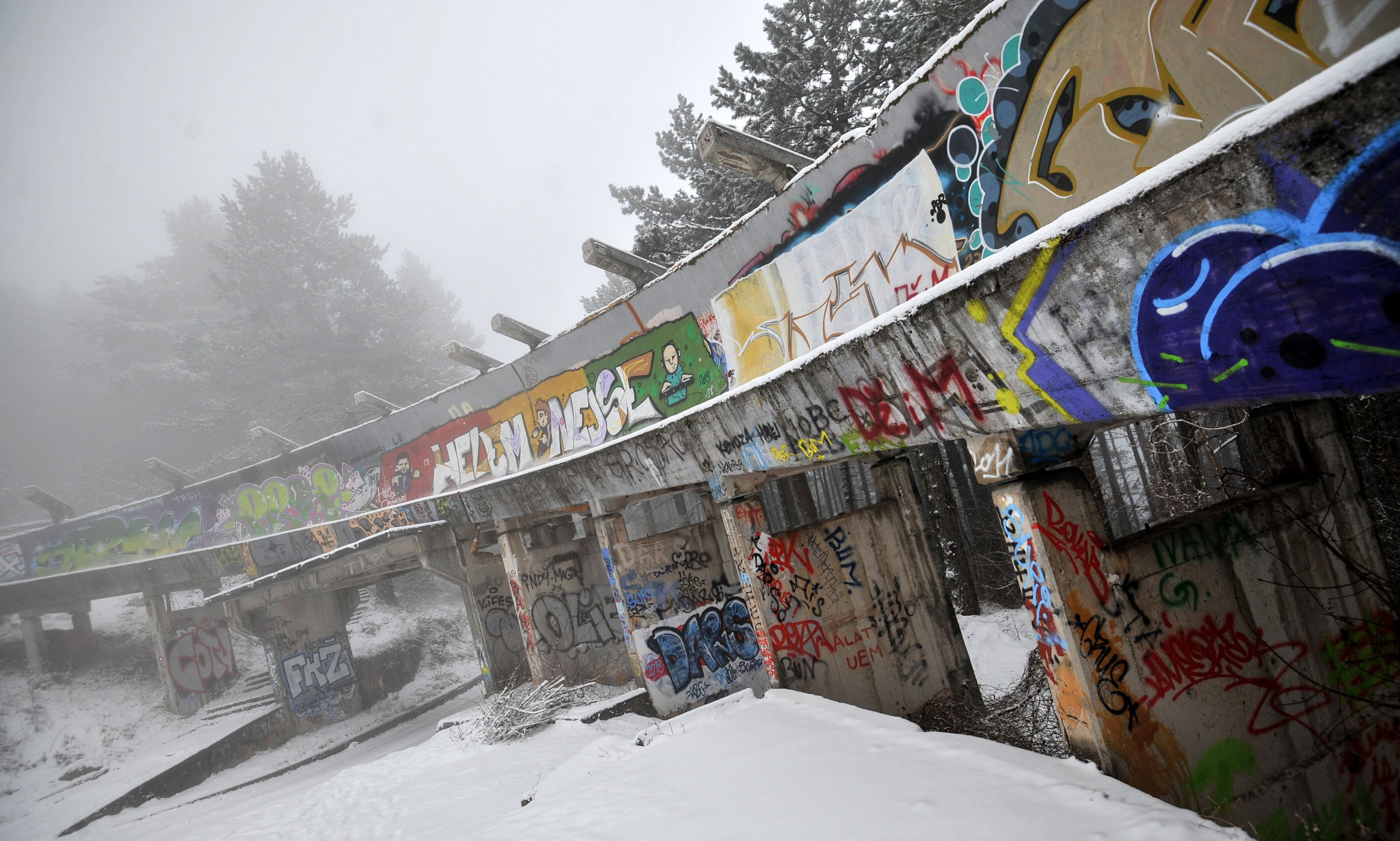 Sarajevo 1984 Winter Olympic bobsleigh track set to be re-built