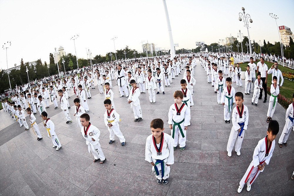 "Uzbekistan's capital Tashkent has played host to a ""Taekwondo for All"" event in the ""Fraternity of Peoples"" square, with a flash mob dedicated to the sport highlighting proceedings ©World Taekwondo"
