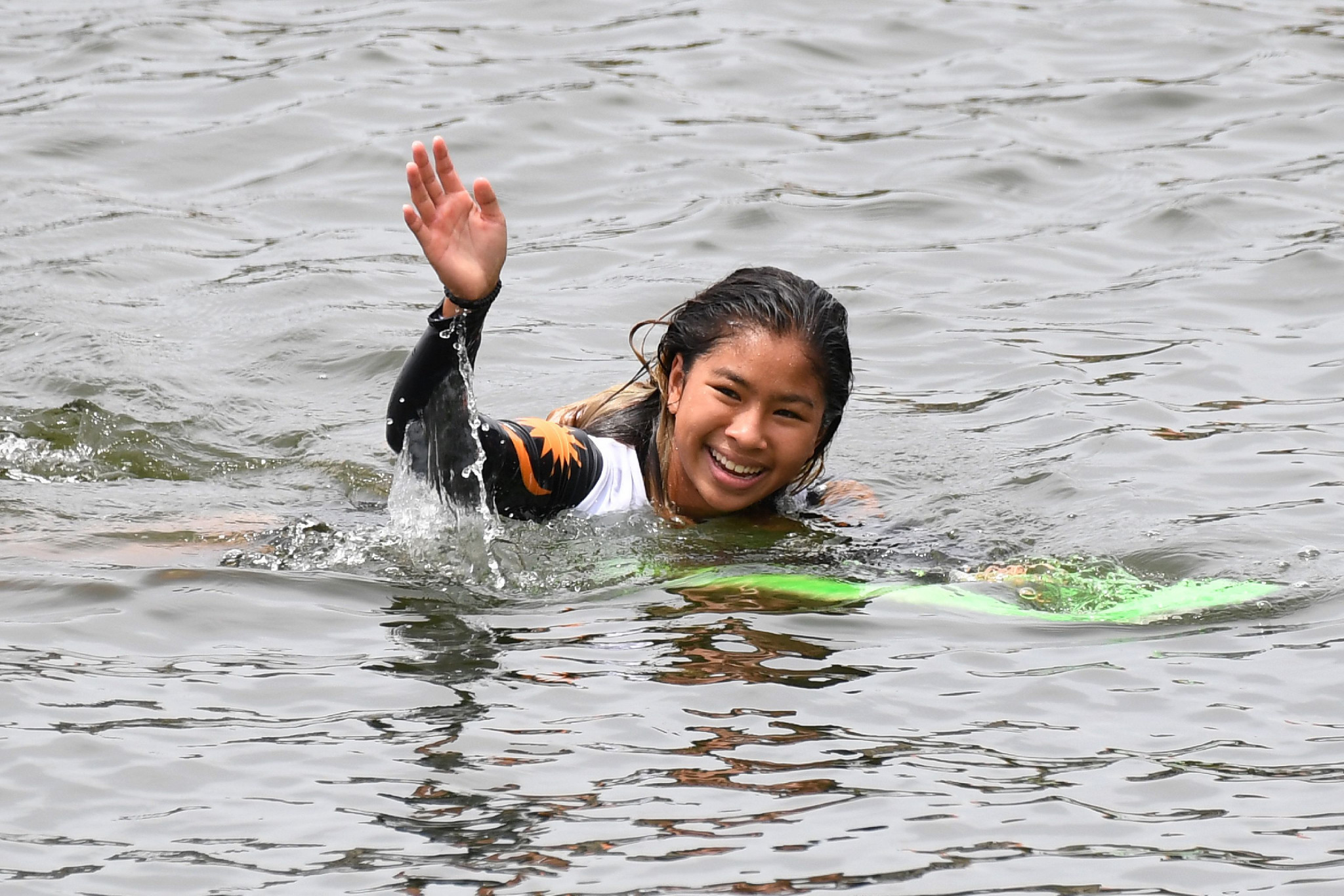 Malaysian 16-year-old into women's tricks final at home IWWF World Waterski Championships
