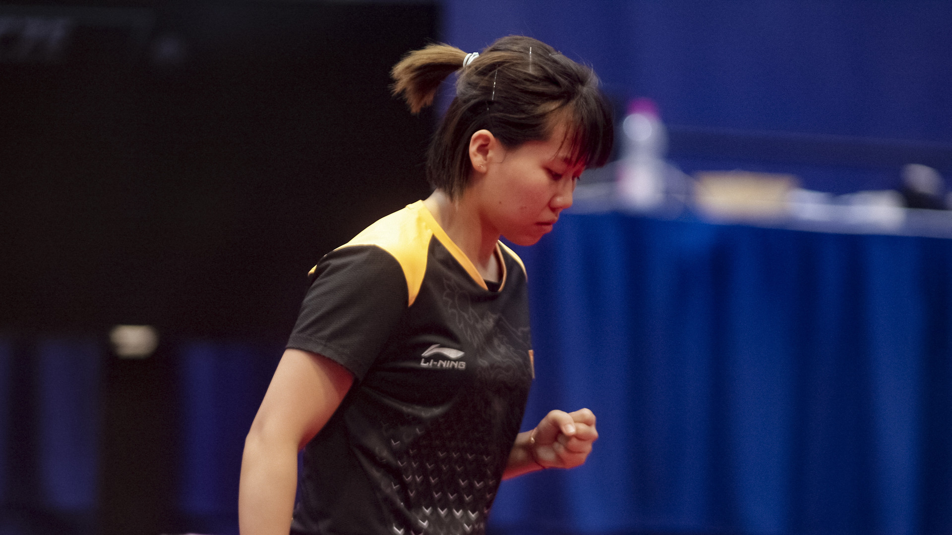 China's Chen Xingtong was extremely impressive as she beat third-seeded Japanese Miu Hirano in the round of 16 in the women's singles event ©ITTF