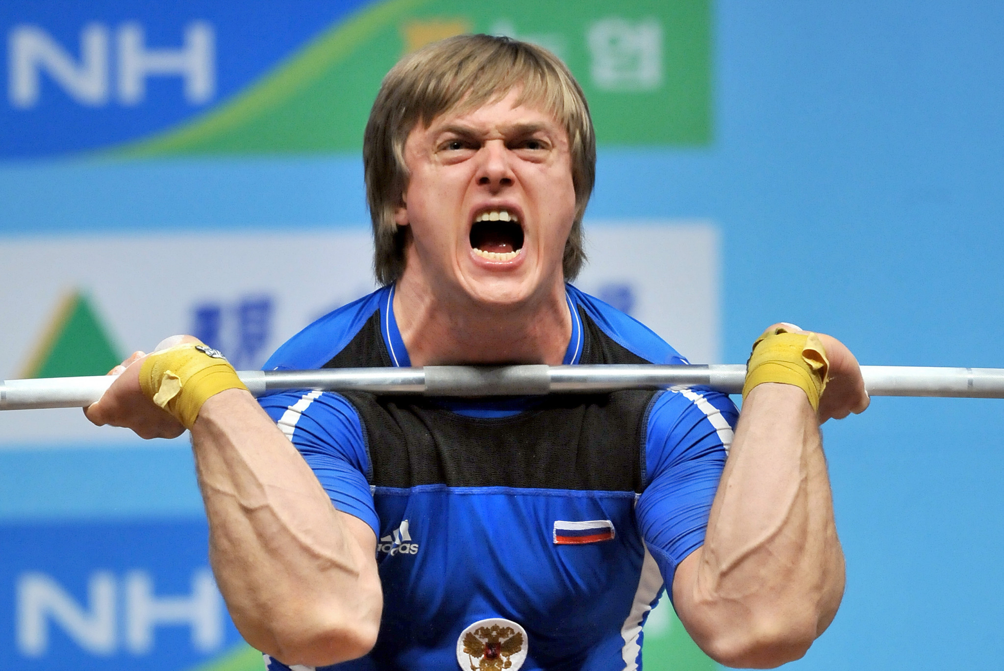 Dmitry Lapikov is among the seven latest weightlifters provisionally suspended by the IWF today ©Getty Images
