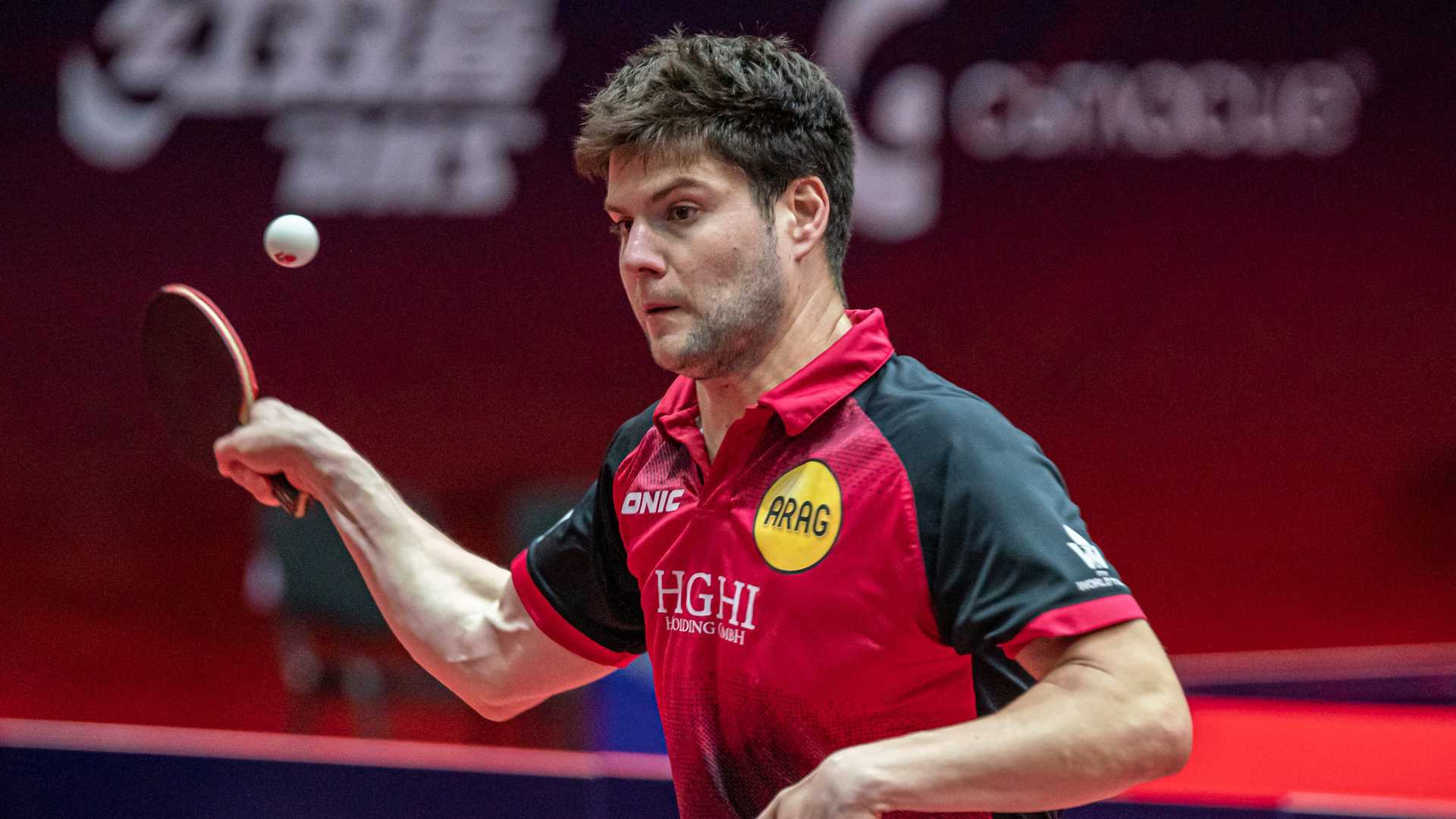 Top seeds Harimoto and Ovtcharov through to men's singles quarter-finals at ITTF Bulgaria Open
