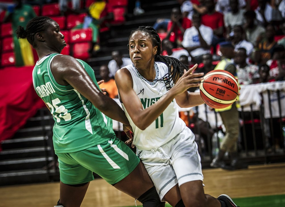Reigning champions Nigeria are through to the 2019 women's AfroBasket final ©FIBA