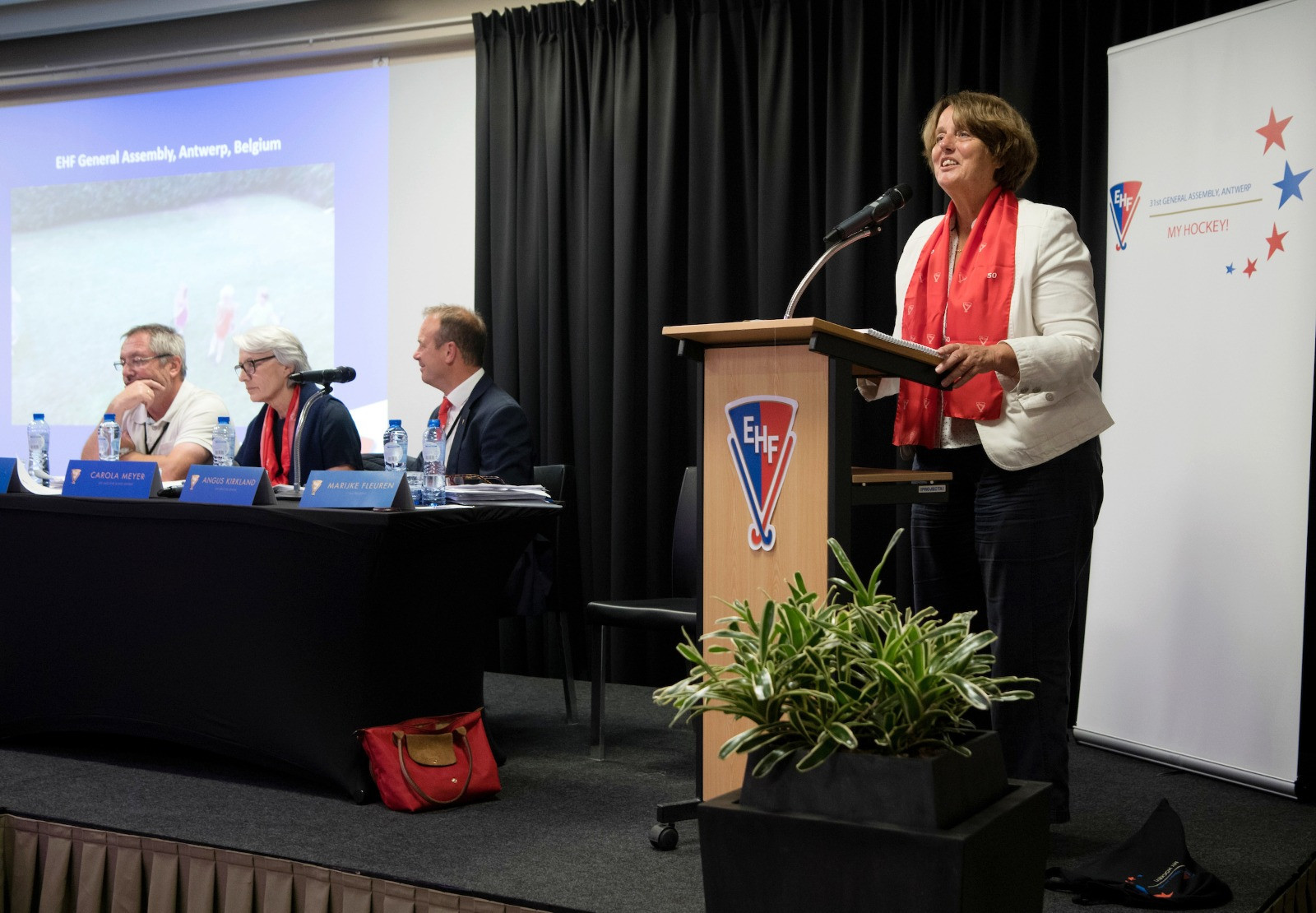 Fleuren re-elected to serve third term as European Hockey Federation President