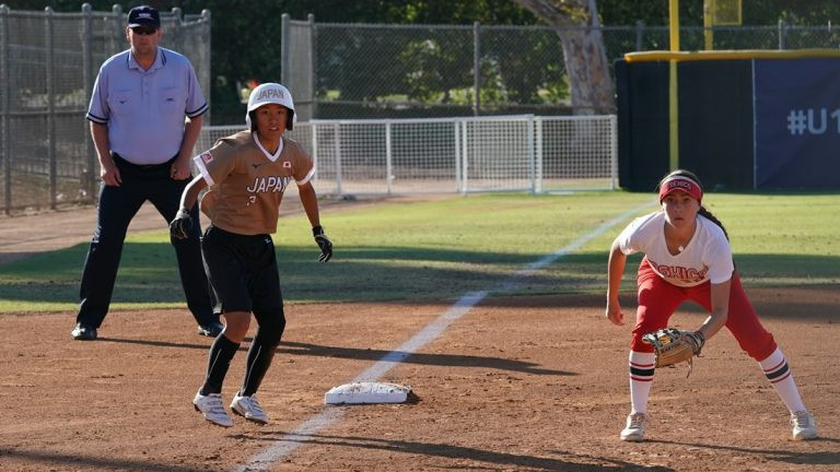 Japan scored nine runs in the first inning as they crushed Mexico 11-0 ©WBSC