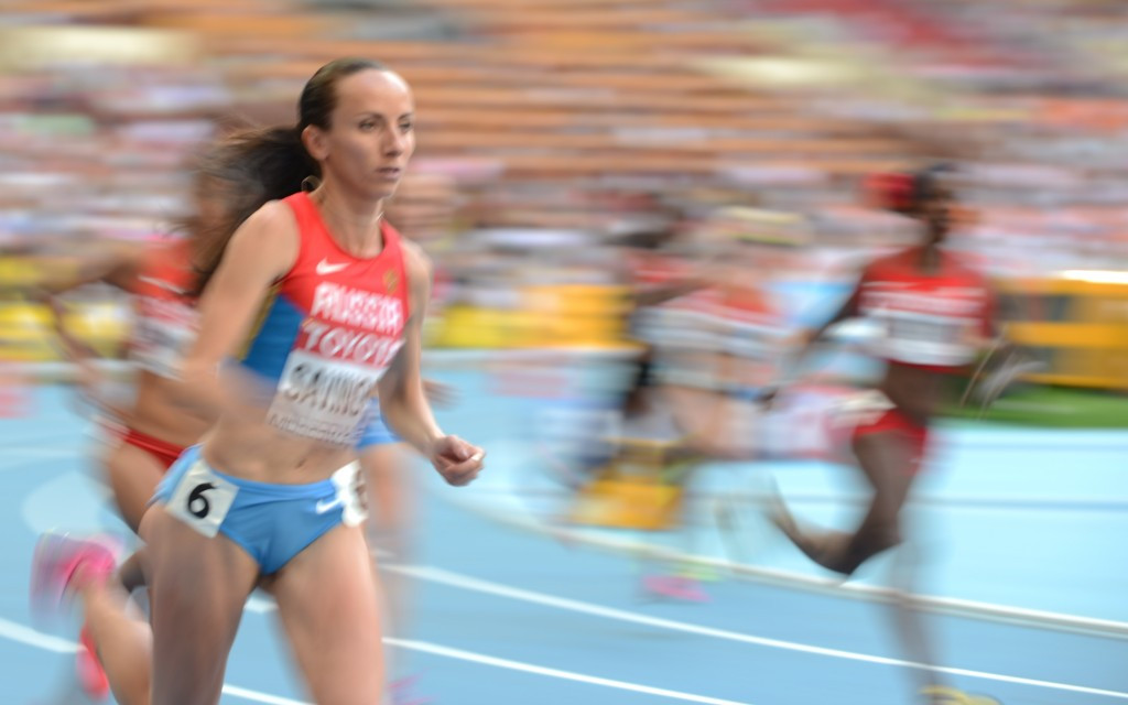Russia is declared non-compliant after allegations of systemic drug use across the athletics team, with 800m Olympic champion Mariya Savinova among those directly implicated ©Getty Images