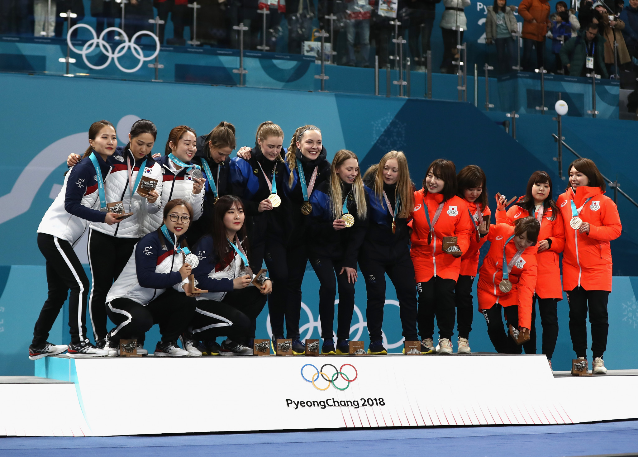 The allegations were raised by members of the South Korean team which claimed silver at Pyeongchang 2018 ©Getty Images