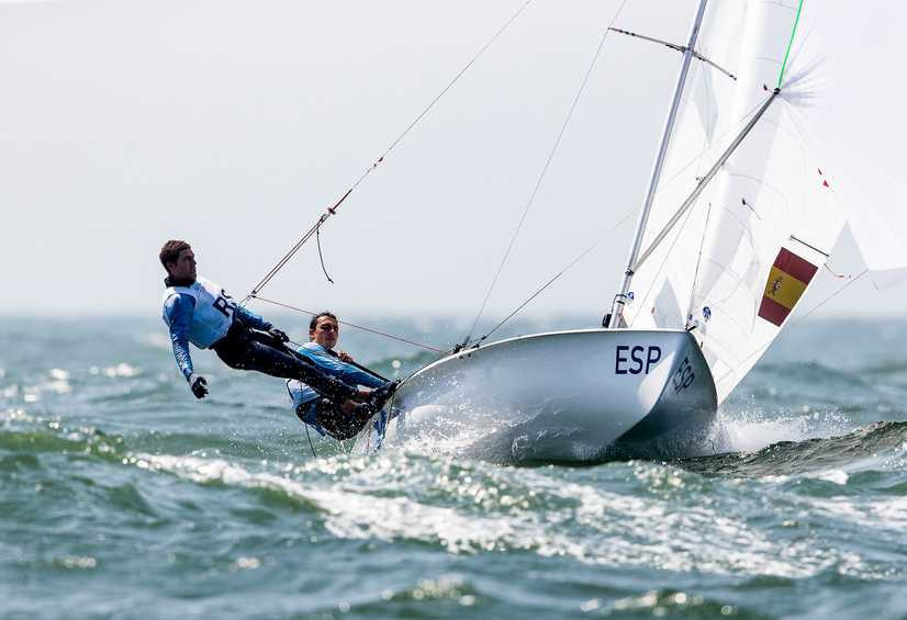 Xammar and Rodriguez make flying start to Tokyo 2020 sailing test event