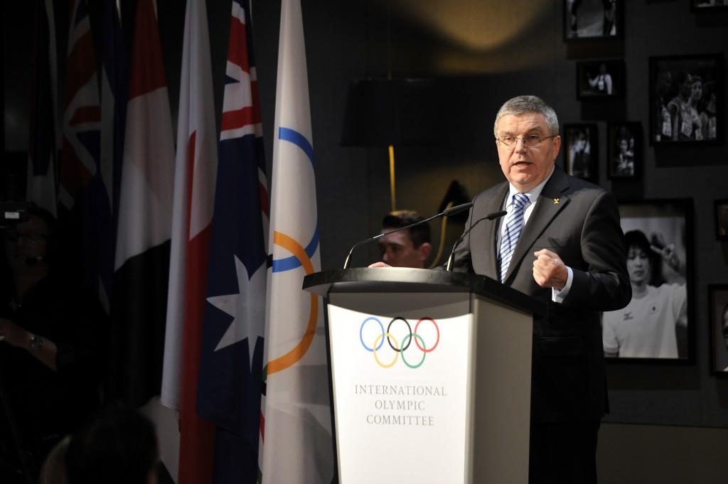 IOC President Thomas Bach believes it is