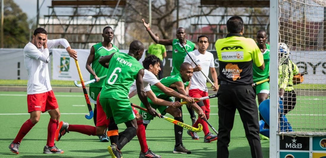 South Africa won 4-0 against Kenya in their bid to qualify for the Tokyo 2020 Olympic Games ©Twitter/Africa Hockey