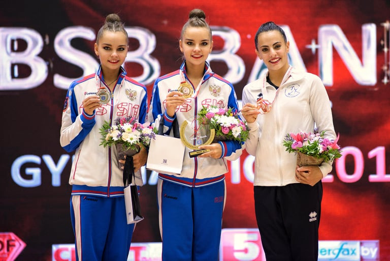 Dina Averina secures all-around gold at FIG World Challenge Cup