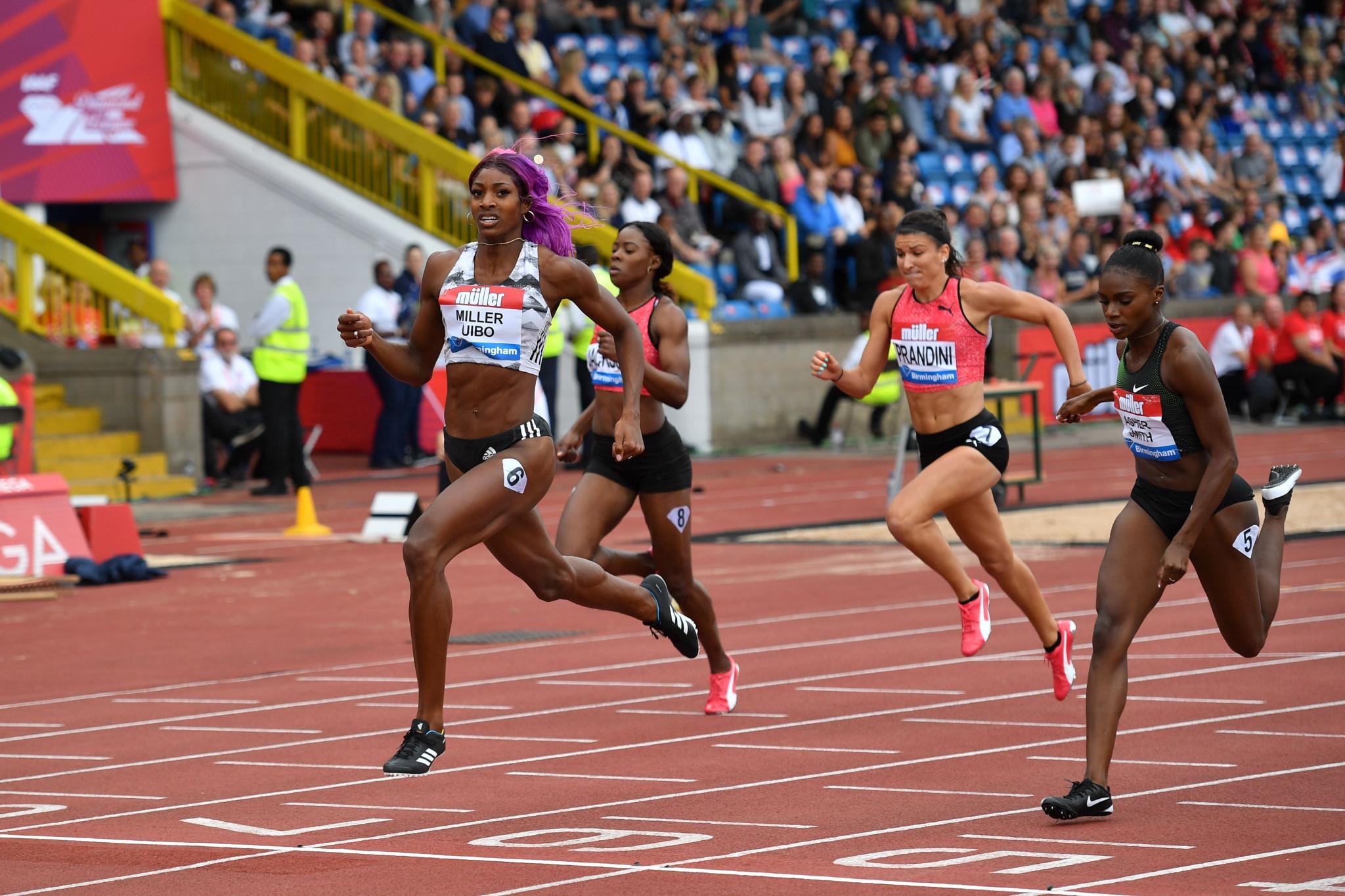 Stellar women's 200m set to headline IAAF Diamond League meeting in Birmingham