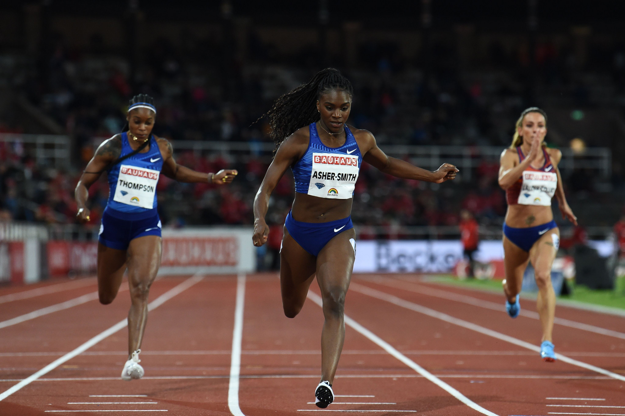 Dina Asher-Smith will line-up in a competitive 200m field in Birmingham ©Getty Images