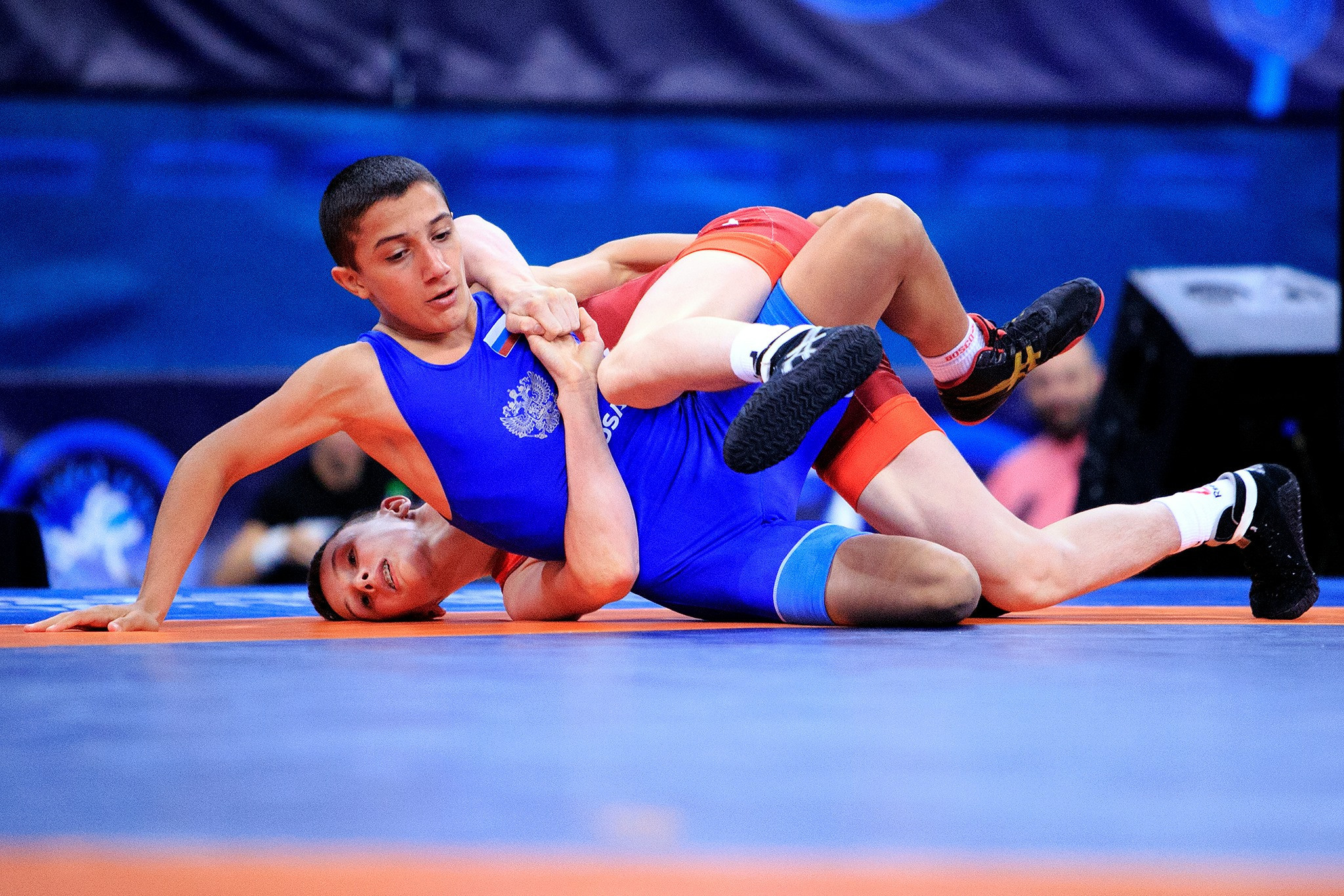 Russians claim Greco-Roman glory at UWW World Junior Wrestling Championships