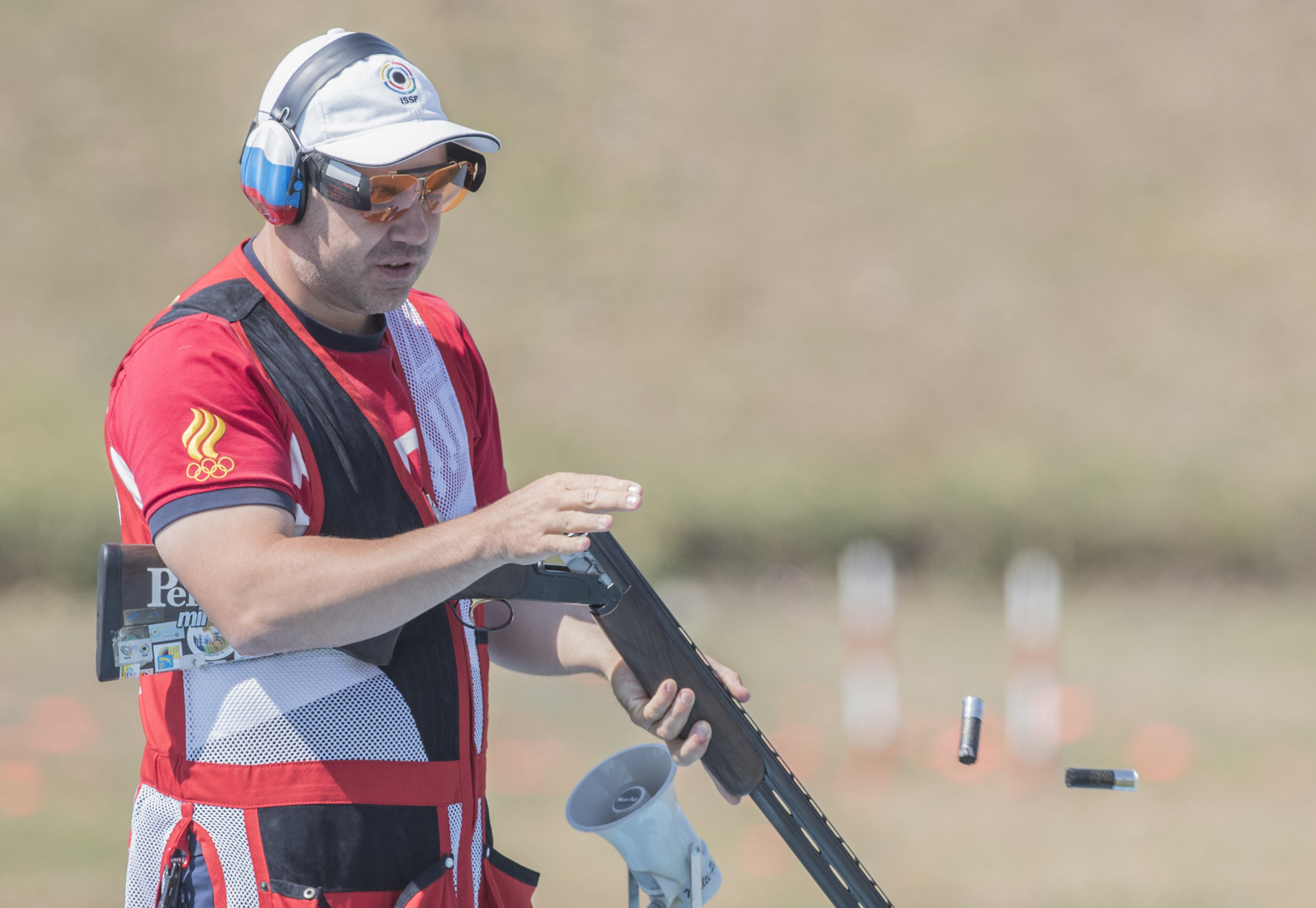 Alipov holds nerve to win men's trap gold at ISSF Shotgun World Cup