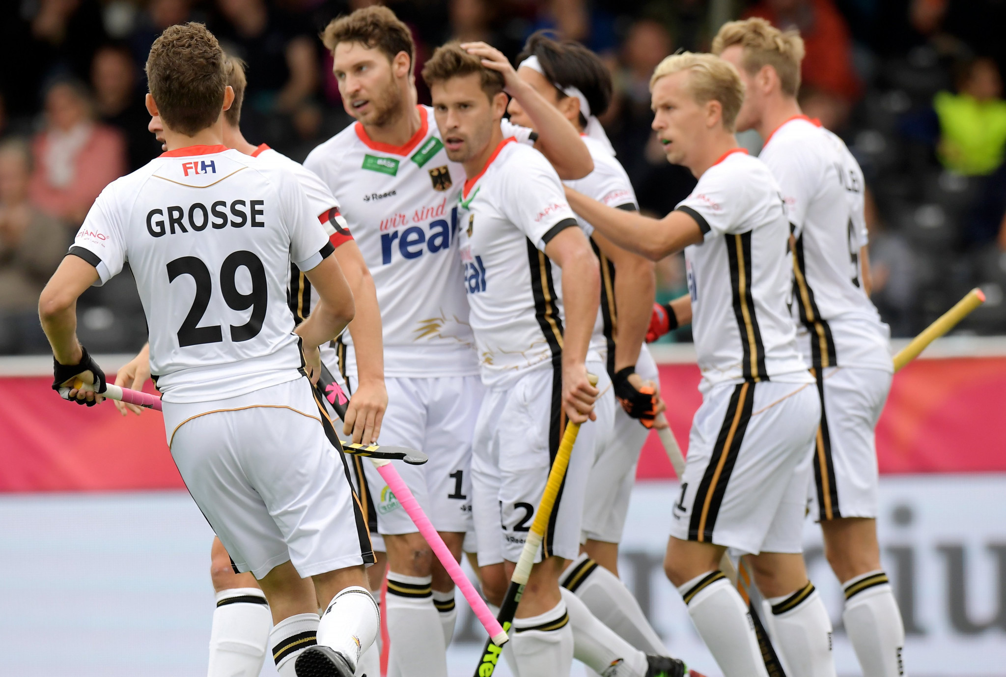 Germany started their men's EuroHockey Nations Championship campaign with a stunning 9-0 victory over Scotland ©Twitter/Eurohockey