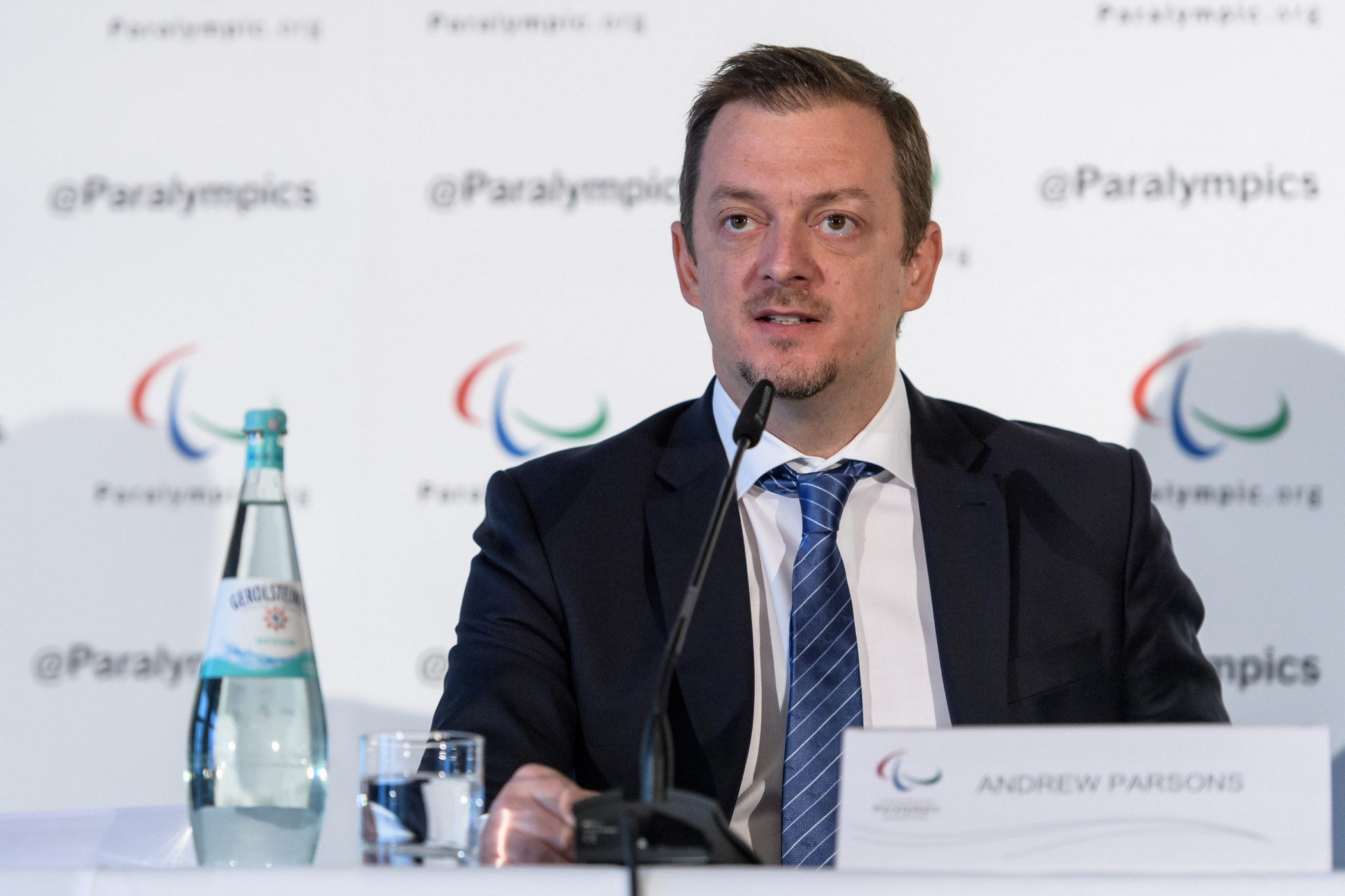 IPC President Andrew Parsons has highlighted survey data indicating a greater awareness of the Paralympics within Japan than there was within Britain at the same relative stage before the London 2012 Games ©Getty Images