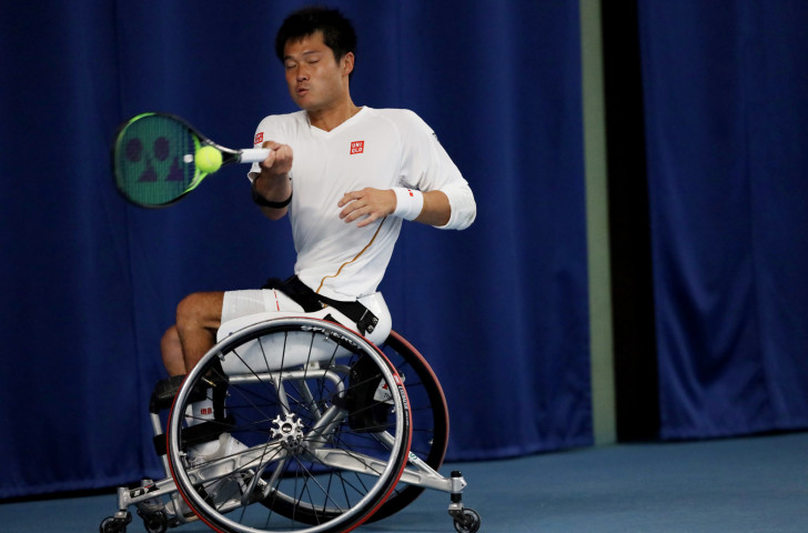 A survey of 3,000 Japanese people showed that 23 per cent could name wheelchair tennis star Shingo Kuneida ©Getty Images
