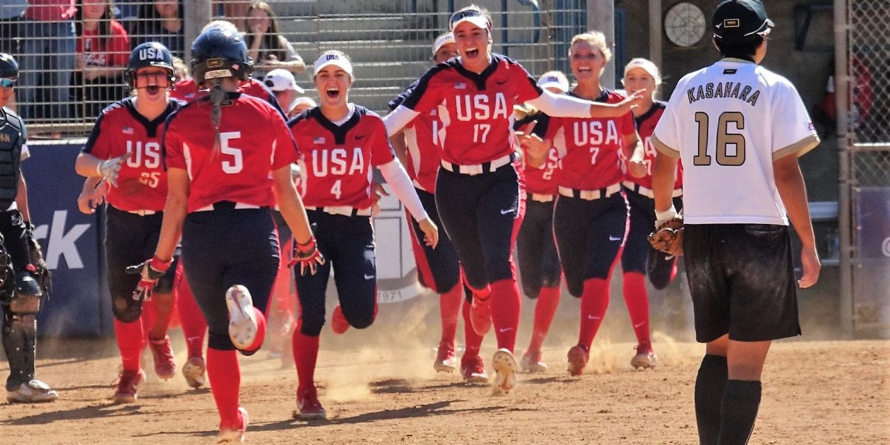 The United States have now won three tournaments in a row ©WBSC