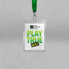 Athletes who visit WADA's athlete outreach team will be encouraged to complete the Play True quiz ©WADA