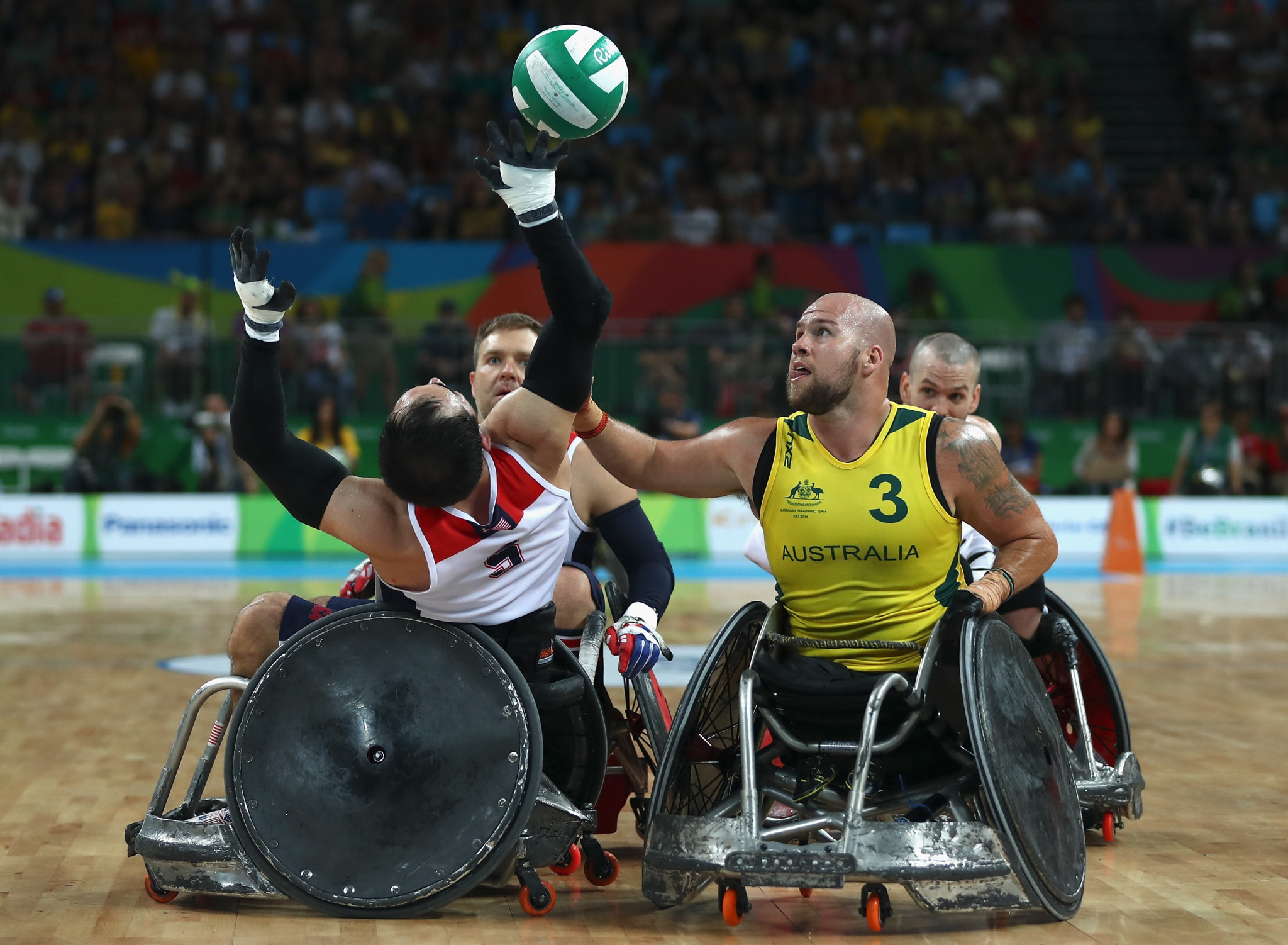 Two-times Paralympic champion Ryley Batt will captain Australia's team at the IWRF Asia-Oceania Wheelchair Rugby Championship ©Getty Images