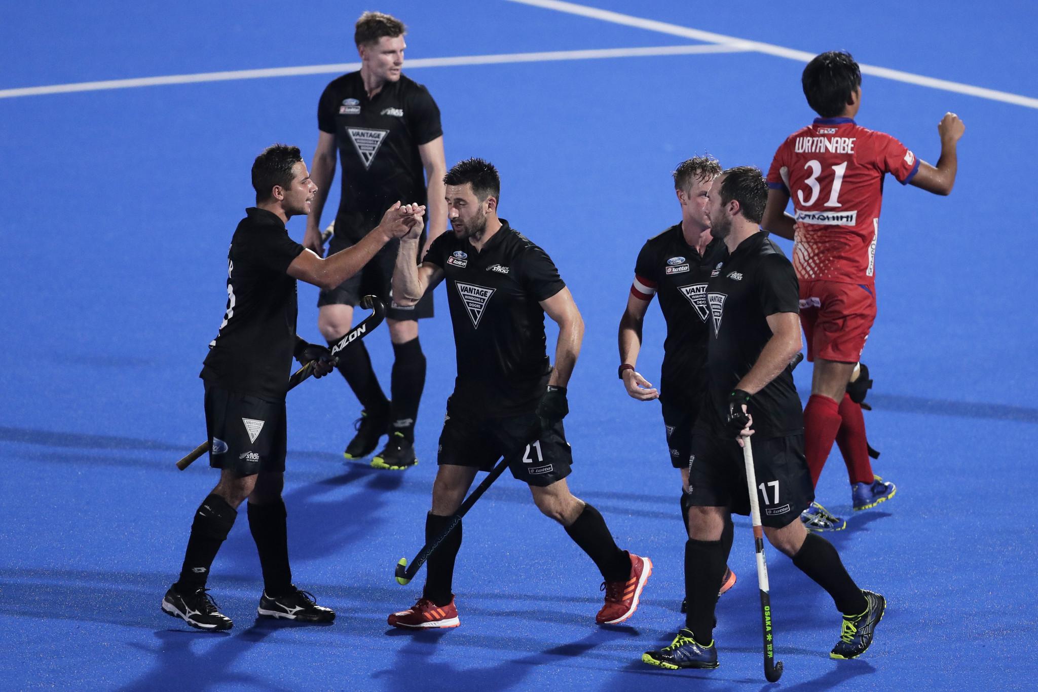 New Zealand reach men's final at Tokyo 2020 hockey test event