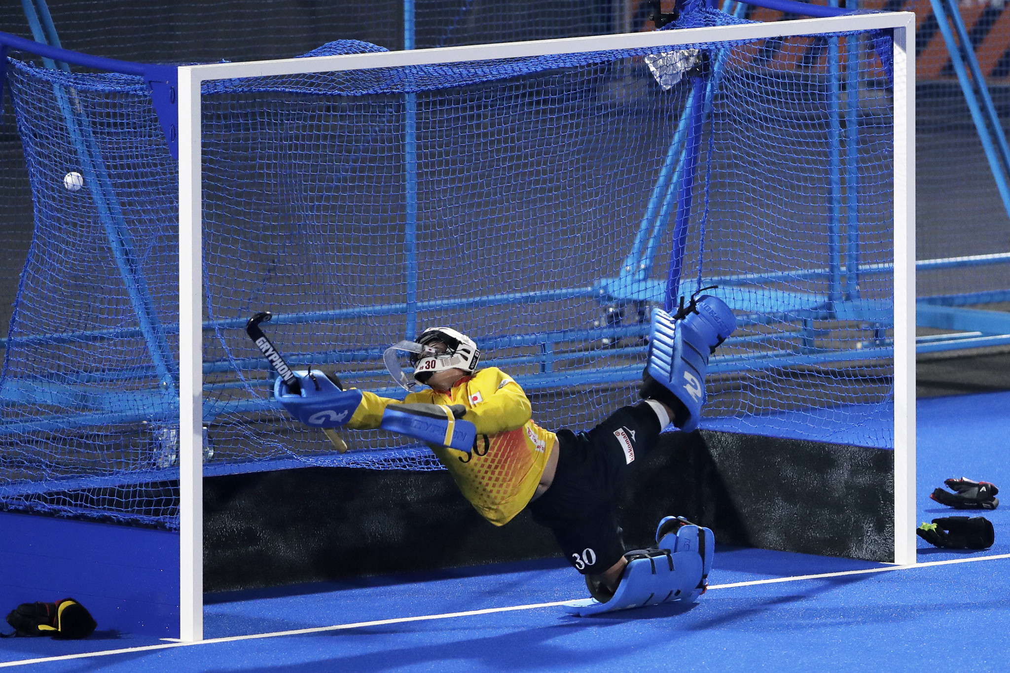 The event is testing facilities at the Oi Hockey Stadium ©Getty Images