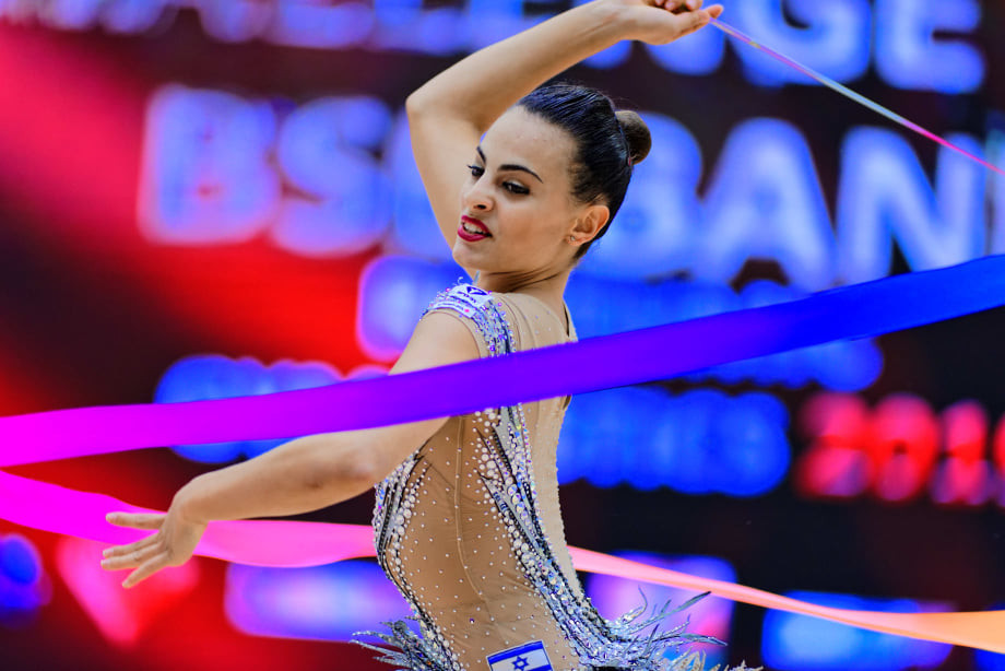 Ashram wins European Rhythmic Gymnastics all-around individual title on last day