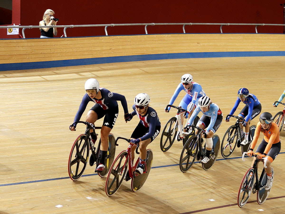 Buck-Gramcko completes UCI Junior Track Cycling World Championships hat-trick in Frankfurt