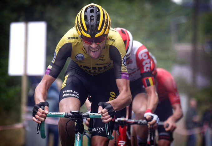 Laurens De Plus of Belgium earned his first International Cycling Union World Tour title ©Twitter