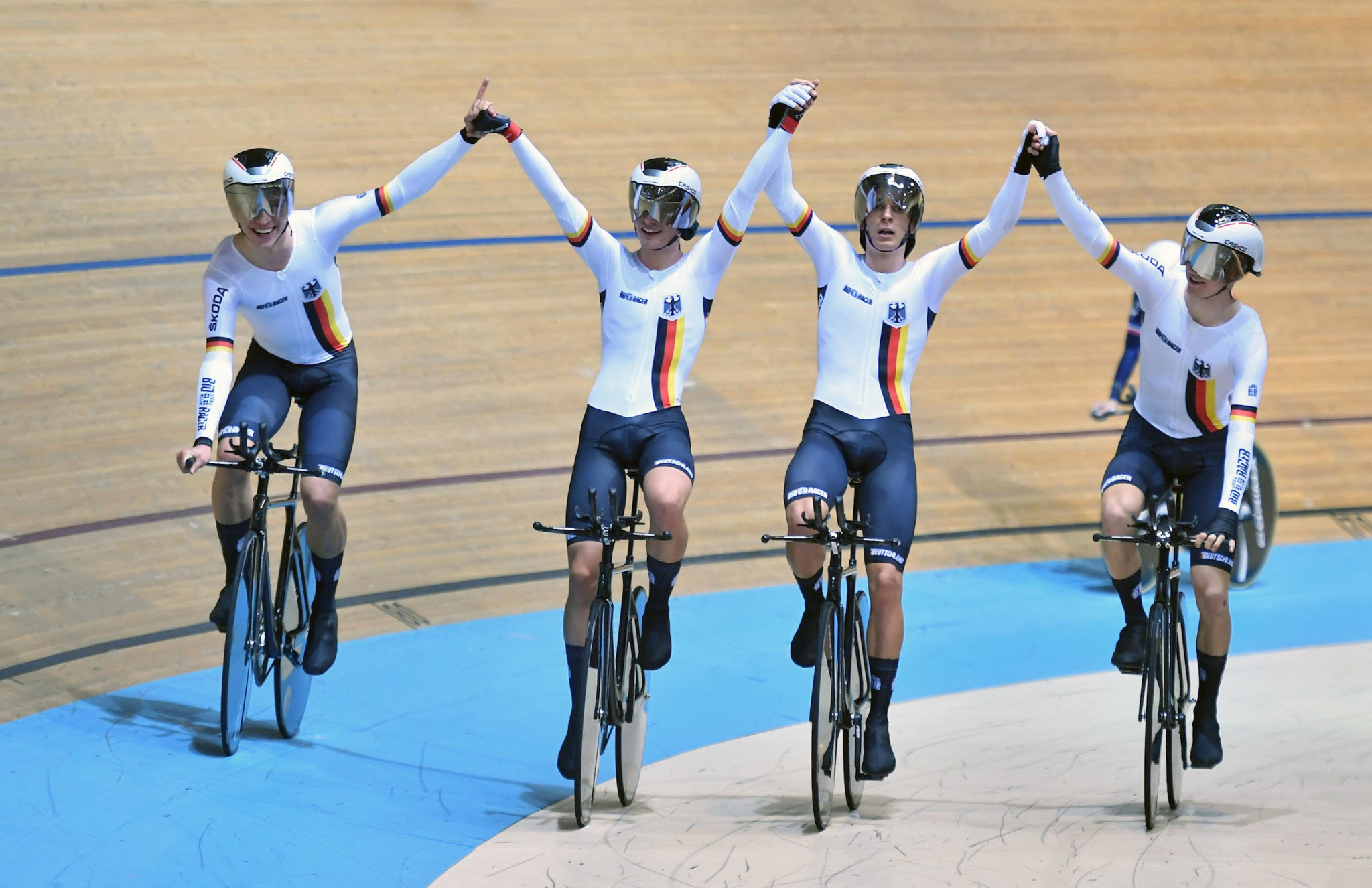 Hosts Germany topped the medal table at the International Cycling Union ©UCI