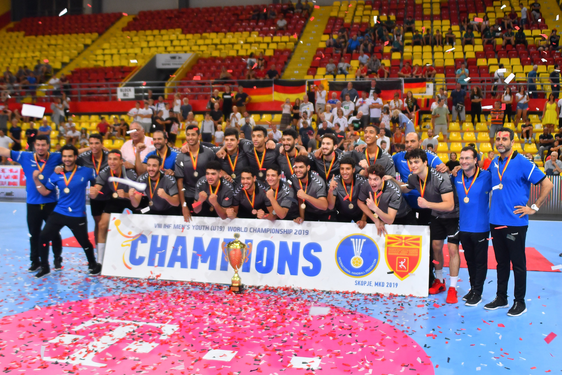 Egypt become first African winners of Men's Youth World Handball Championship