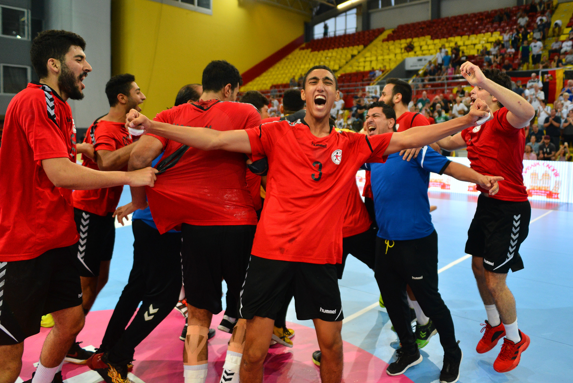 Egypt become the first African and first non-European winners ©IHF