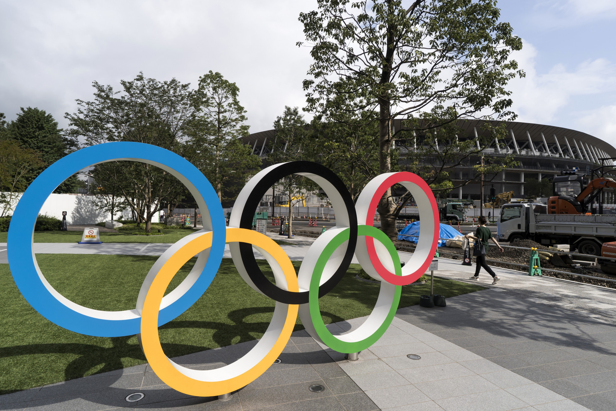 The venue tour will include the new Olympic Stadium ©Getty Images