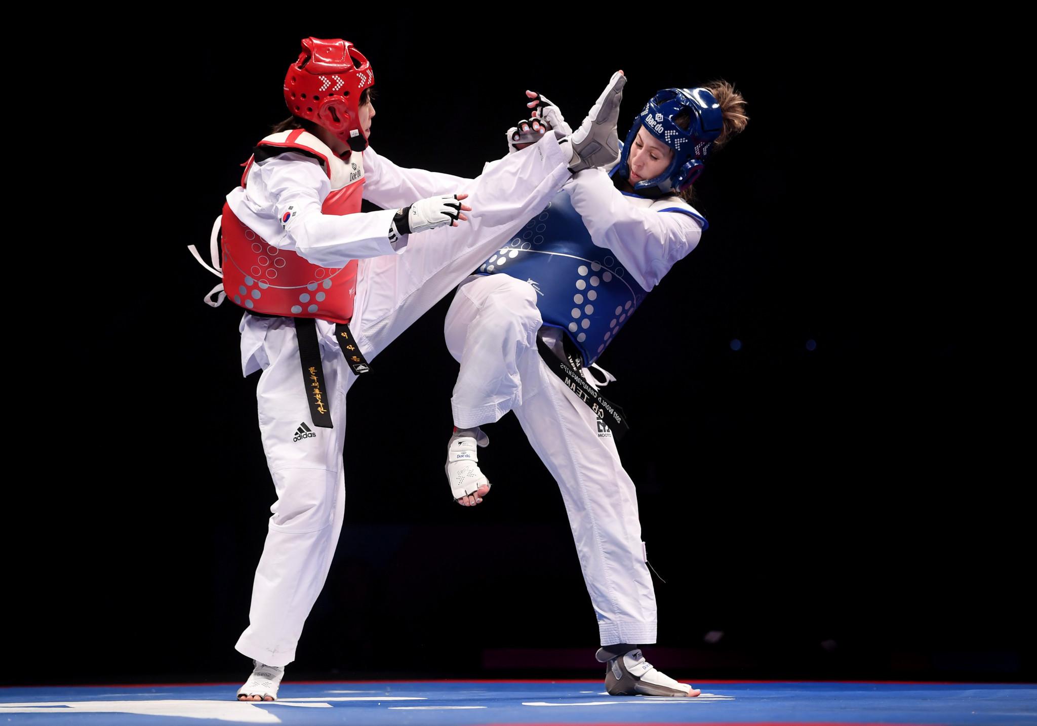 Chinese Taipei and South Korea shine at Asian Taekwondo Open Championships