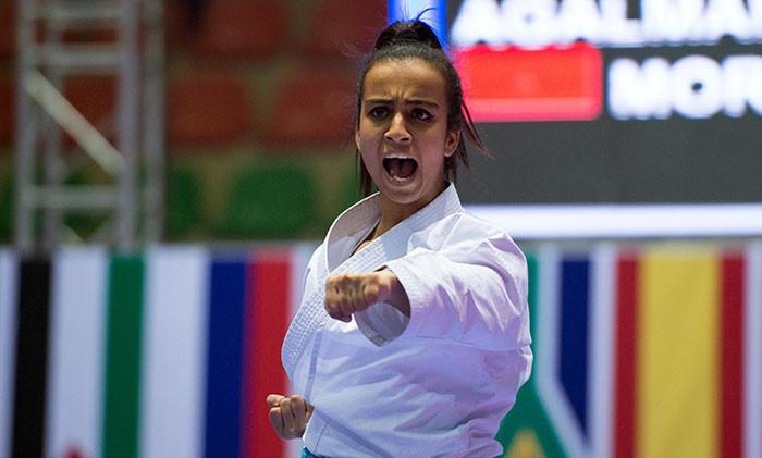 Sanae Agalmam will look to impress on home soil in the women's kata ©WKF