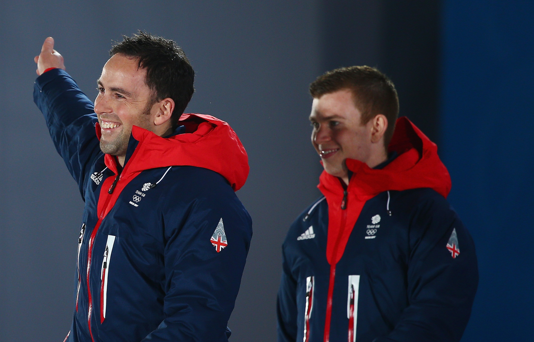 Olympic silver medallist Greg Drummond, right, is among those to join the coaching staff ©Getty Images