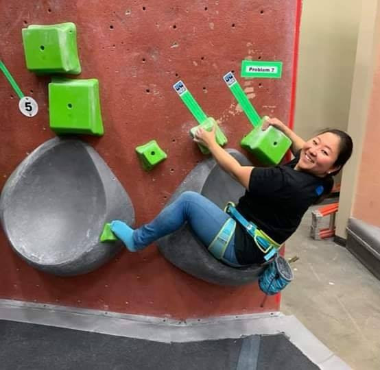 Jessica Sporte and Sebastian Depke have been announced as the new athlete representatives on the IFSC Paraclimbing Committee ©Facebook